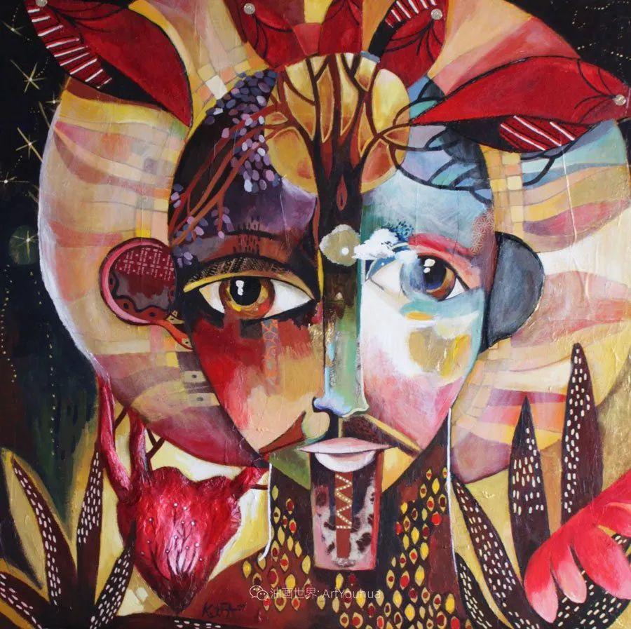 """""""睁一只眼闭一只眼"""",法国女艺术家Laure Ketfa作品选插图18"""