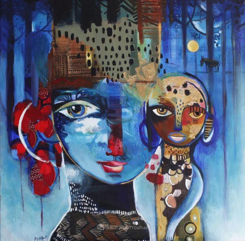 """""""睁一只眼闭一只眼"""",法国女艺术家Laure Ketfa作品选插图20"""