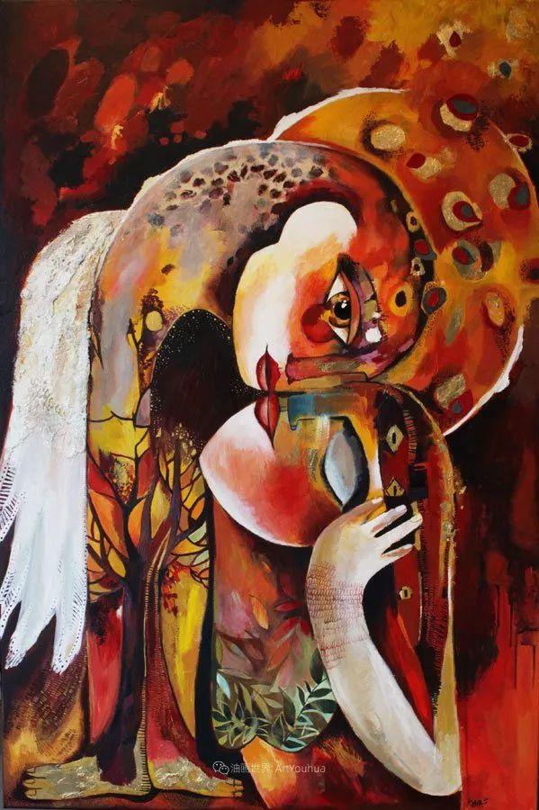 """""""睁一只眼闭一只眼"""",法国女艺术家Laure Ketfa作品选插图22"""