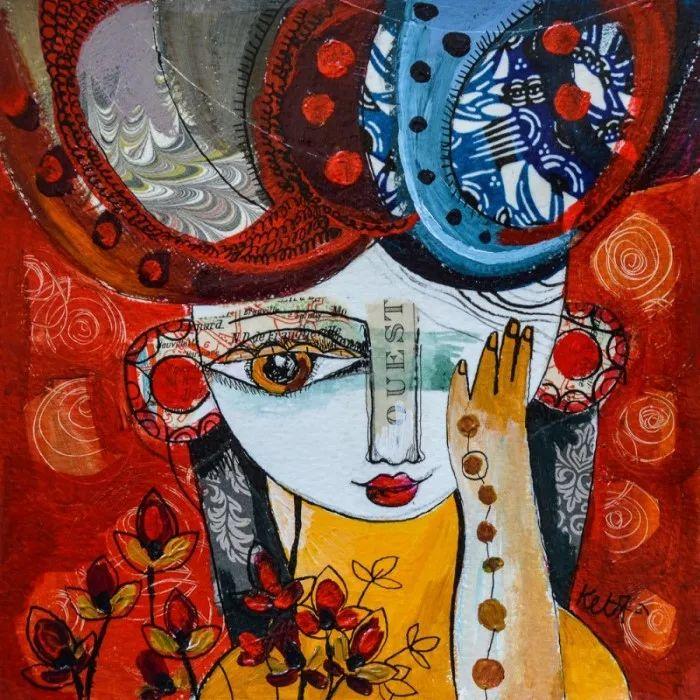 """""""睁一只眼闭一只眼"""",法国女艺术家Laure Ketfa作品选插图25"""