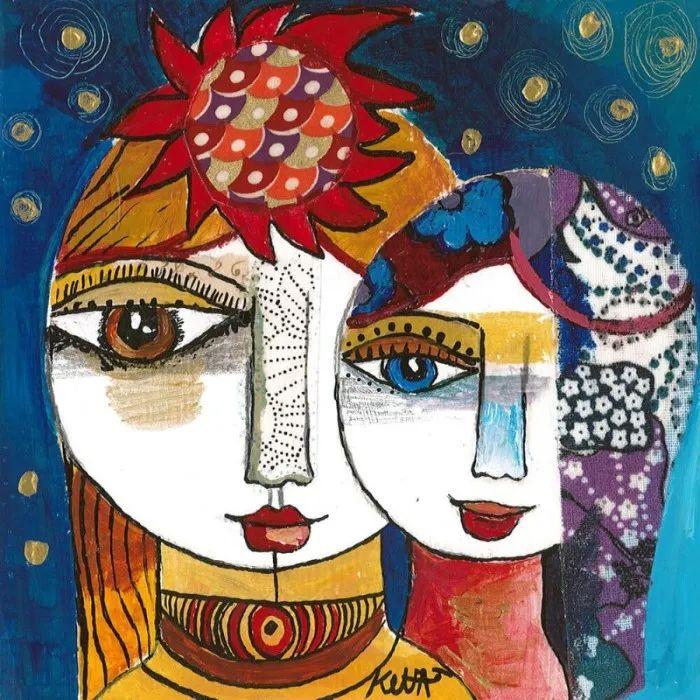 """""""睁一只眼闭一只眼"""",法国女艺术家Laure Ketfa作品选插图28"""