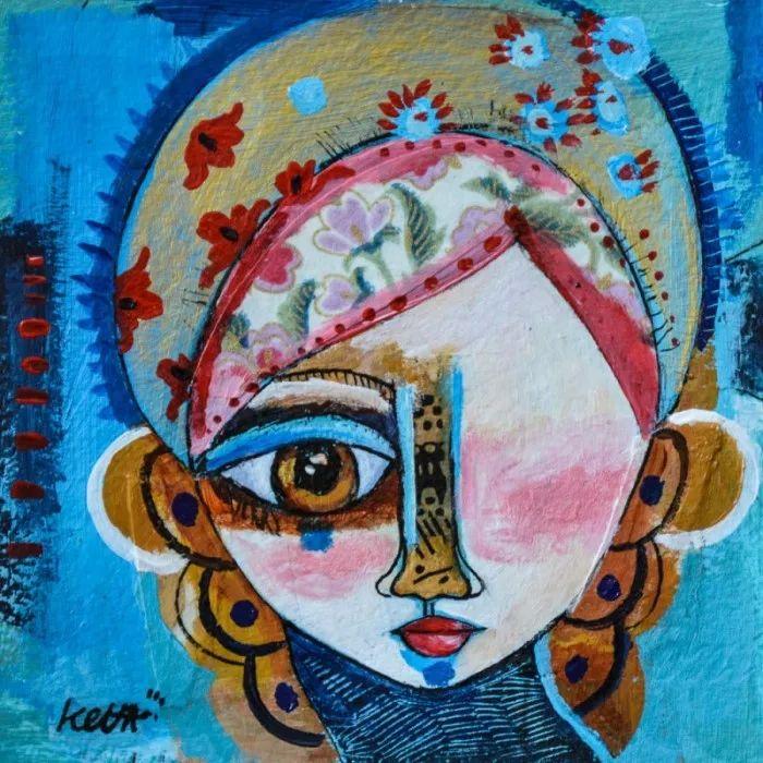 """""""睁一只眼闭一只眼"""",法国女艺术家Laure Ketfa作品选插图30"""