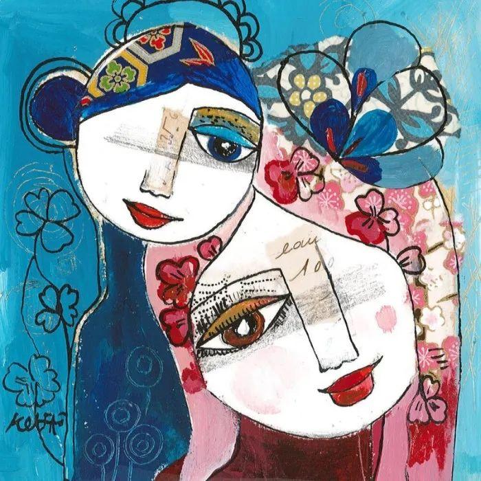 """""""睁一只眼闭一只眼"""",法国女艺术家Laure Ketfa作品选插图32"""