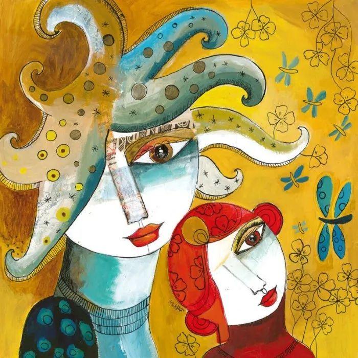 """""""睁一只眼闭一只眼"""",法国女艺术家Laure Ketfa作品选插图35"""