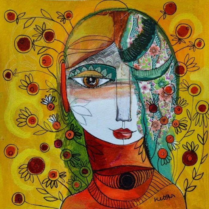 """""""睁一只眼闭一只眼"""",法国女艺术家Laure Ketfa作品选插图37"""