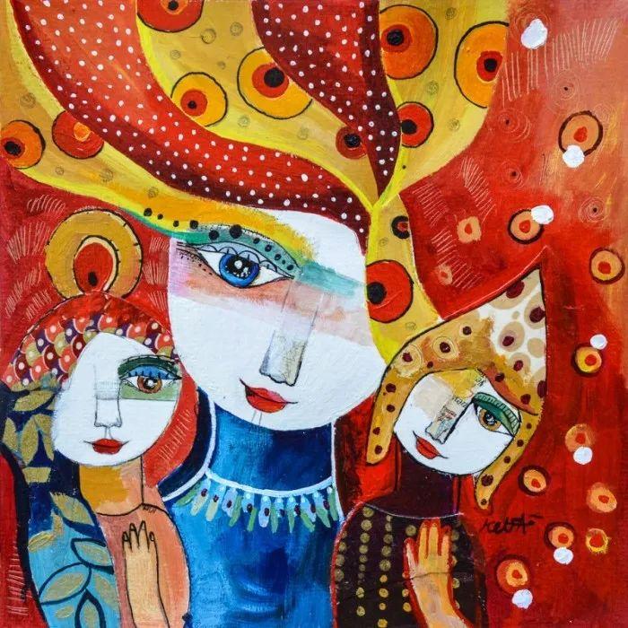 """""""睁一只眼闭一只眼"""",法国女艺术家Laure Ketfa作品选插图40"""