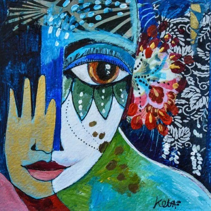 """""""睁一只眼闭一只眼"""",法国女艺术家Laure Ketfa作品选插图41"""