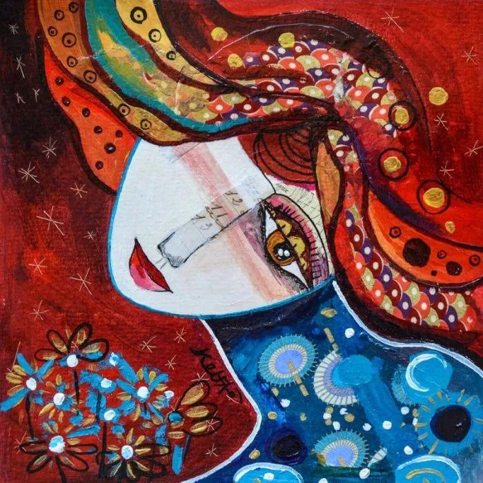 """""""睁一只眼闭一只眼"""",法国女艺术家Laure Ketfa作品选插图43"""