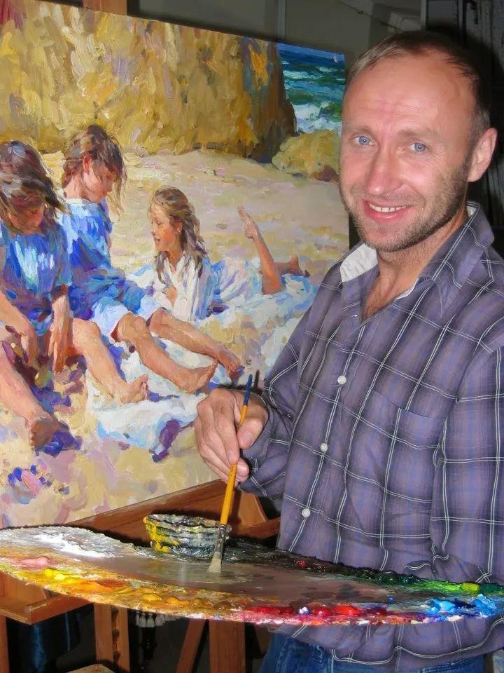 色彩热烈,笔触挥洒奔放!俄罗斯印象派画家尤里·克罗托夫作品选插图2