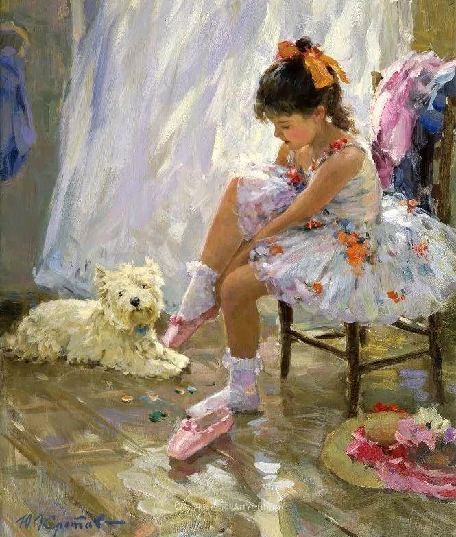色彩热烈,笔触挥洒奔放!俄罗斯印象派画家尤里·克罗托夫作品选插图13