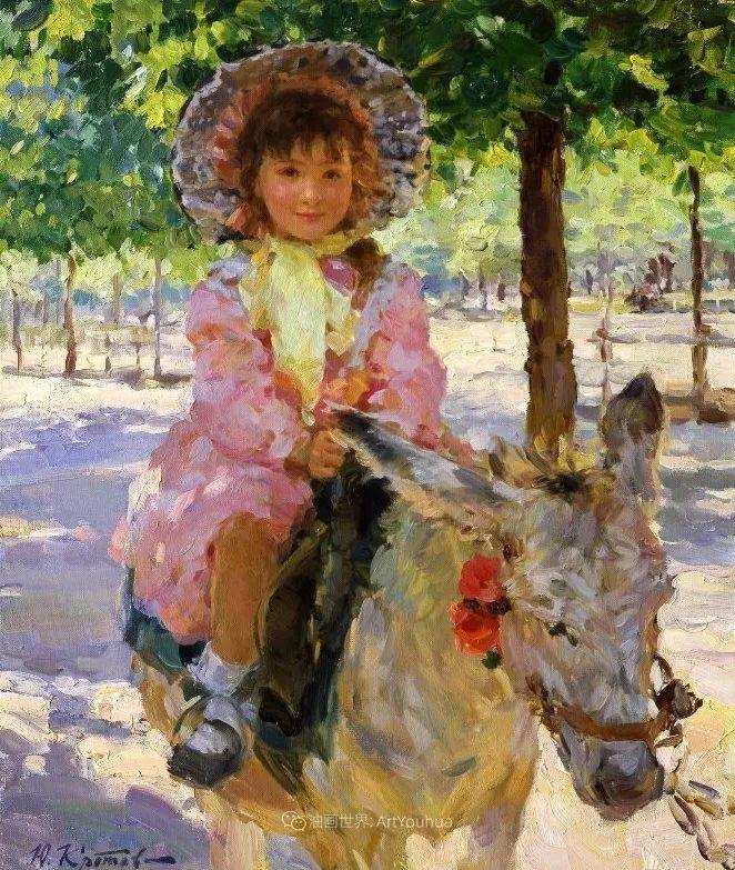 色彩热烈,笔触挥洒奔放!俄罗斯印象派画家尤里·克罗托夫作品选插图15