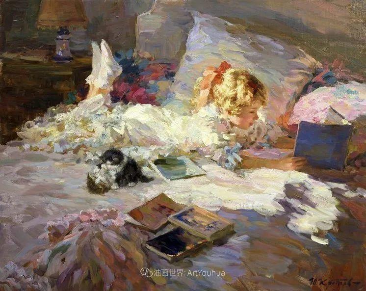 色彩热烈,笔触挥洒奔放!俄罗斯印象派画家尤里·克罗托夫作品选插图17