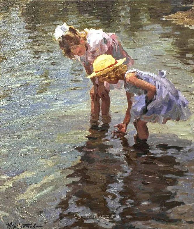 色彩热烈,笔触挥洒奔放!俄罗斯印象派画家尤里·克罗托夫作品选插图19
