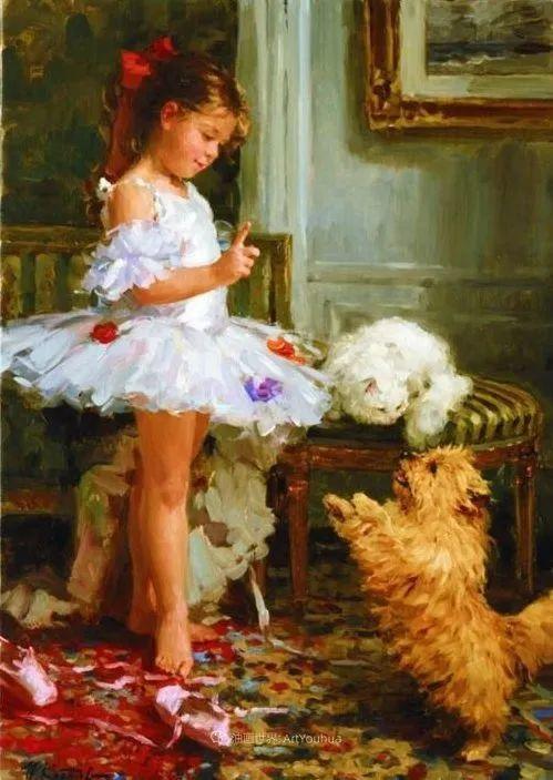 色彩热烈,笔触挥洒奔放!俄罗斯印象派画家尤里·克罗托夫作品选插图21