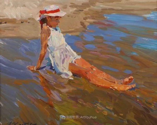 色彩热烈,笔触挥洒奔放!俄罗斯印象派画家尤里·克罗托夫作品选插图33