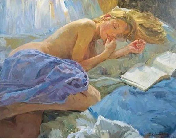 色彩热烈,笔触挥洒奔放!俄罗斯印象派画家尤里·克罗托夫作品选插图35