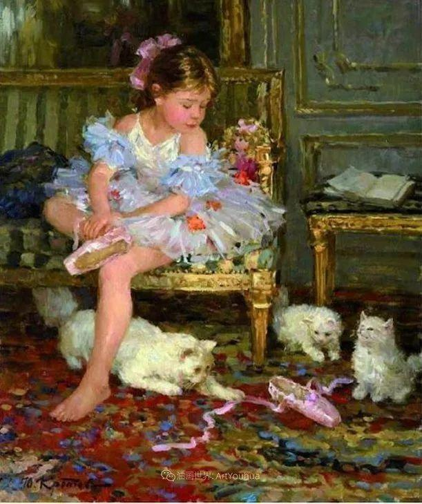 色彩热烈,笔触挥洒奔放!俄罗斯印象派画家尤里·克罗托夫作品选插图37