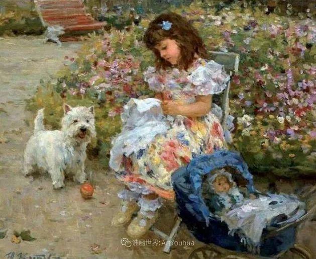 色彩热烈,笔触挥洒奔放!俄罗斯印象派画家尤里·克罗托夫作品选插图39