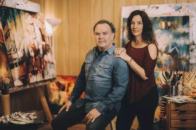 她没上过美院,画作却被世界各地的收藏家争相收藏,16岁卖画赚100万插图16