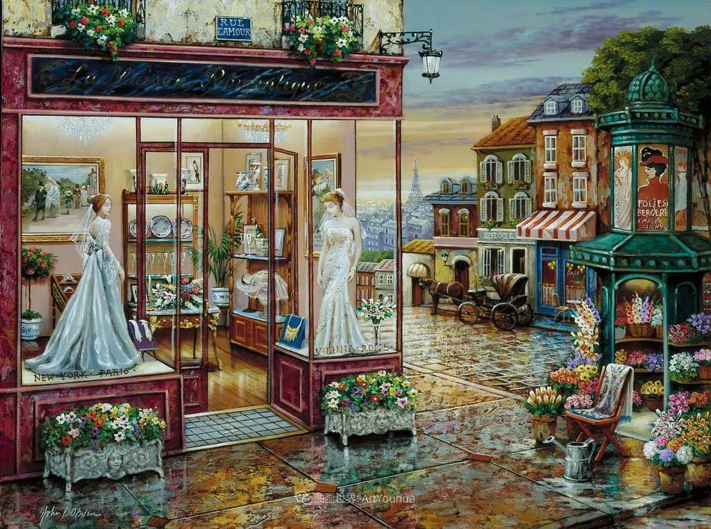 室内场景,美国艺术家John Patrick O'Brien作品选插图1