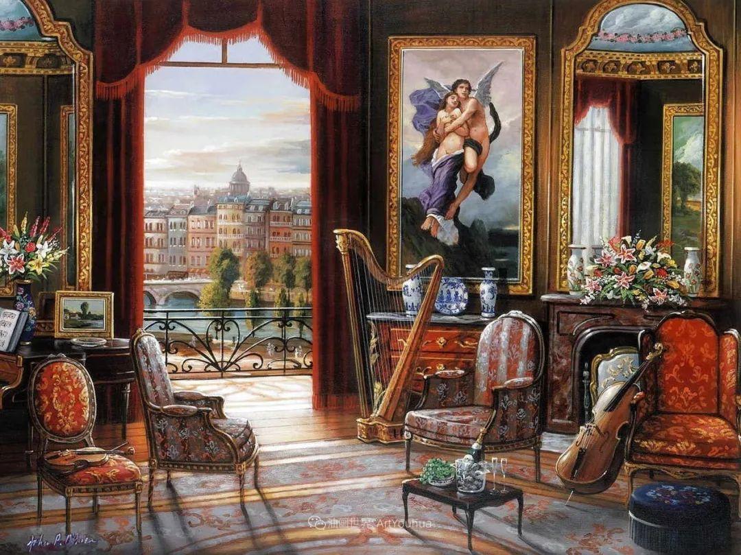 室内场景,美国艺术家John Patrick O'Brien作品选插图4