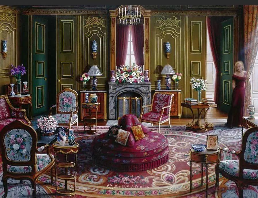 室内场景,美国艺术家John Patrick O'Brien作品选插图6