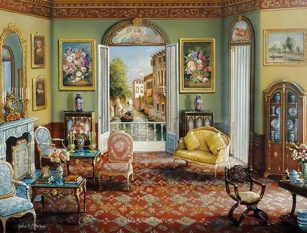 室内场景,美国艺术家John Patrick O'Brien作品选插图7