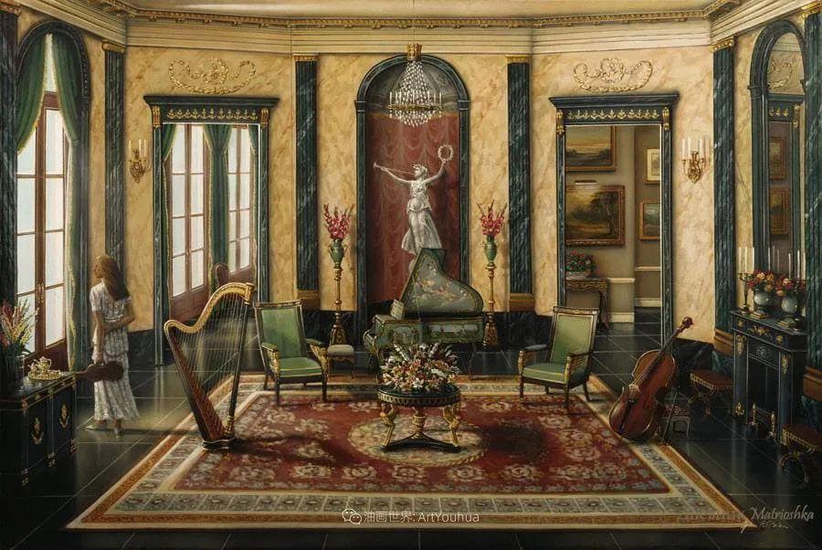 室内场景,美国艺术家John Patrick O'Brien作品选插图8