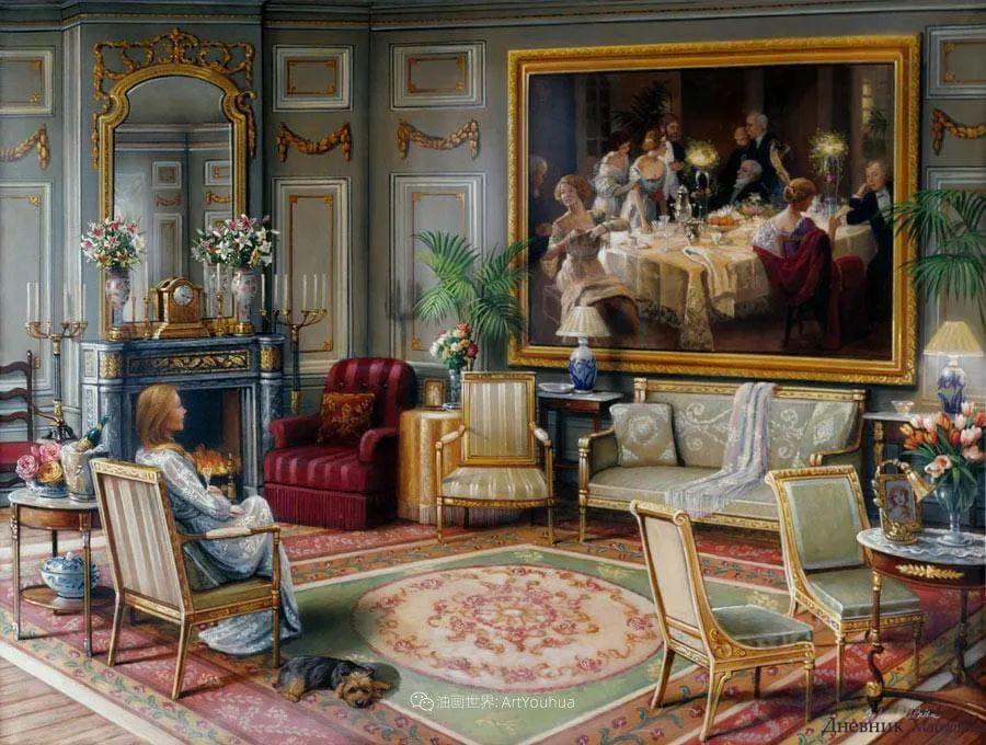 室内场景,美国艺术家John Patrick O'Brien作品选插图12
