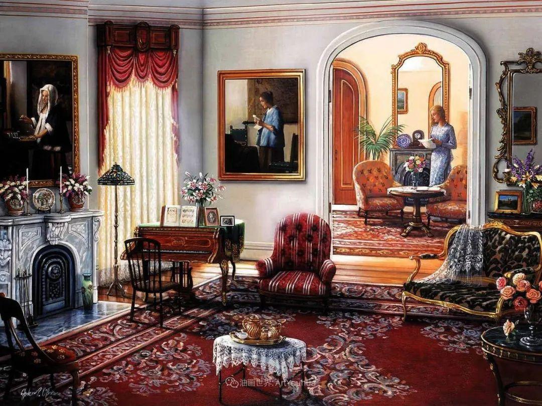 室内场景,美国艺术家John Patrick O'Brien作品选插图16