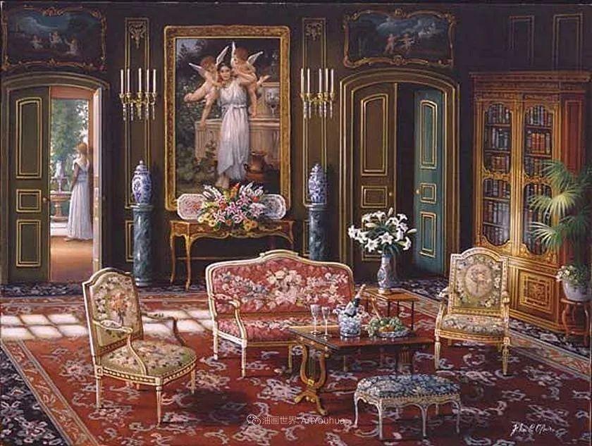 室内场景,美国艺术家John Patrick O'Brien作品选插图17