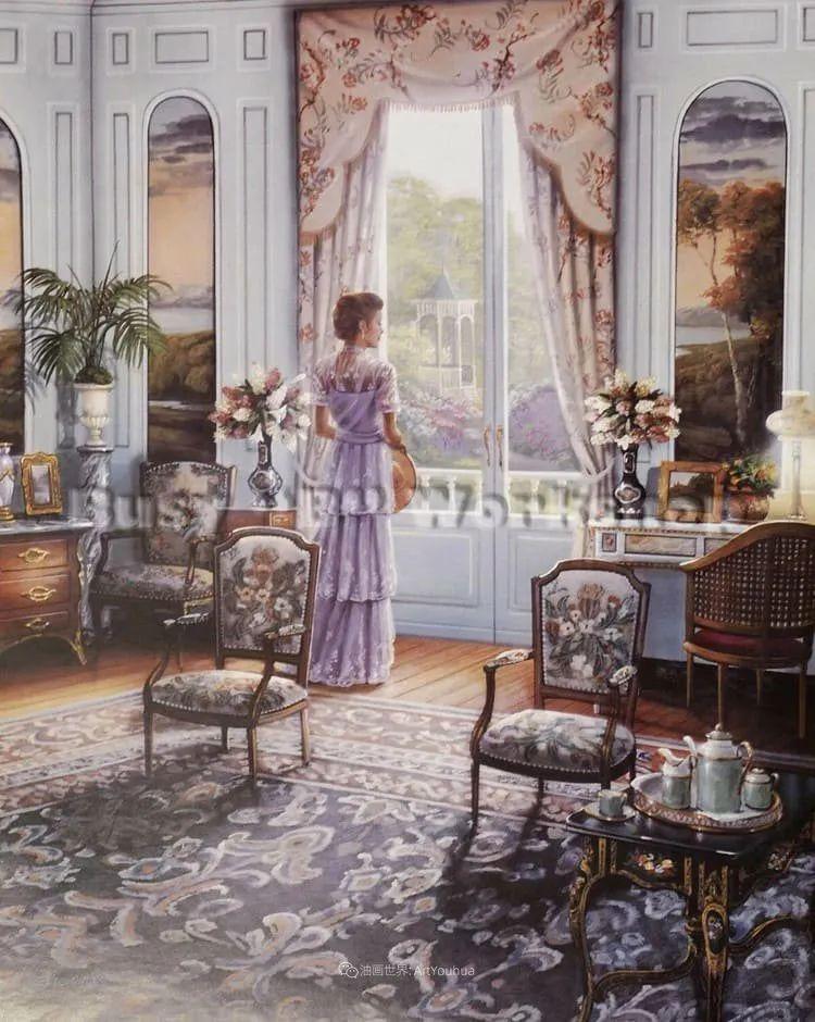 室内场景,美国艺术家John Patrick O'Brien作品选插图22