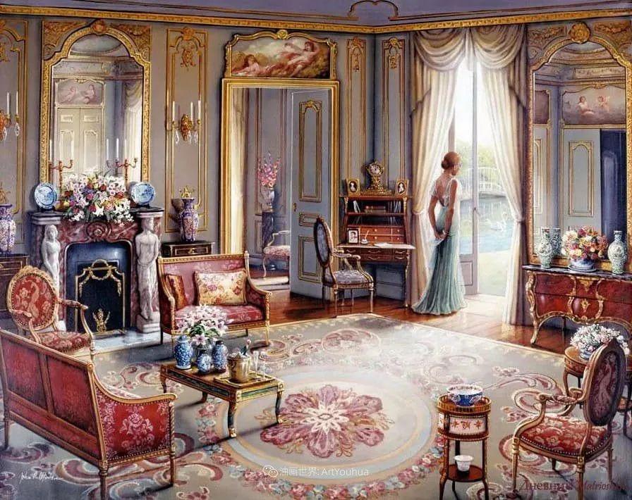 室内场景,美国艺术家John Patrick O'Brien作品选插图23