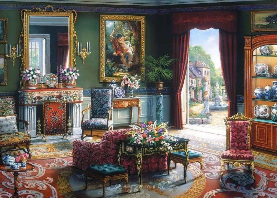 室内场景,美国艺术家John Patrick O'Brien作品选插图25