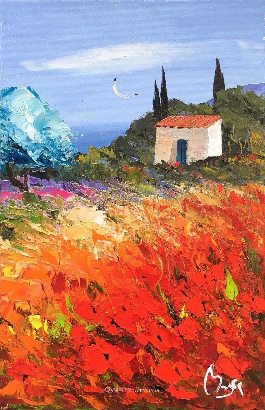 炫彩的刀画风景,法国艺术家Louis Magre作品选(下)插图12
