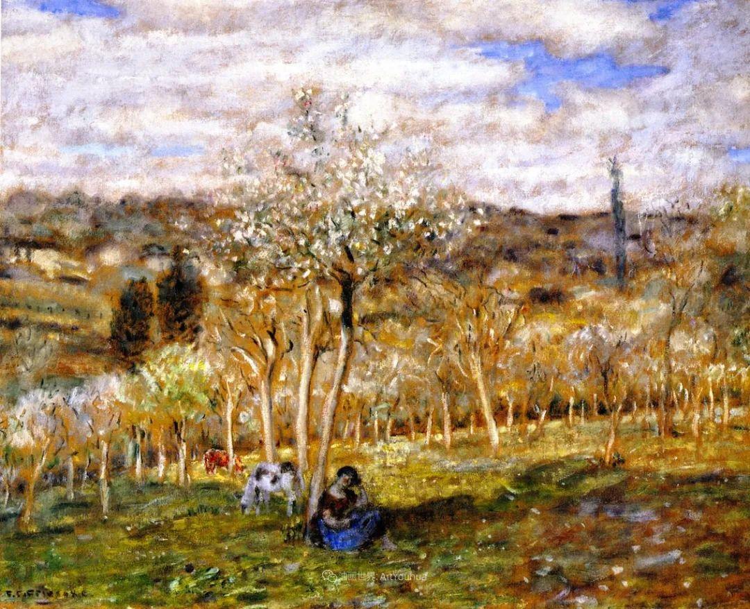 风景花卉,美国印象派画家Frederick Carl Frieseke作品选插图2