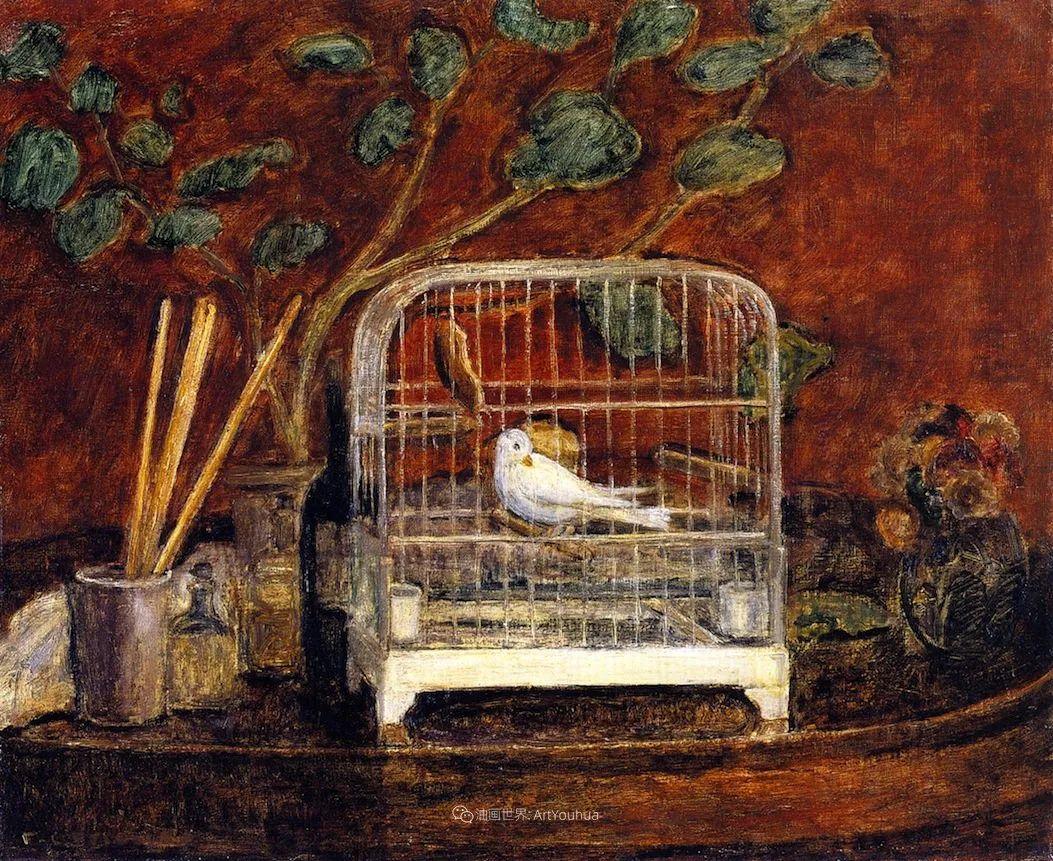 风景花卉,美国印象派画家Frederick Carl Frieseke作品选插图10