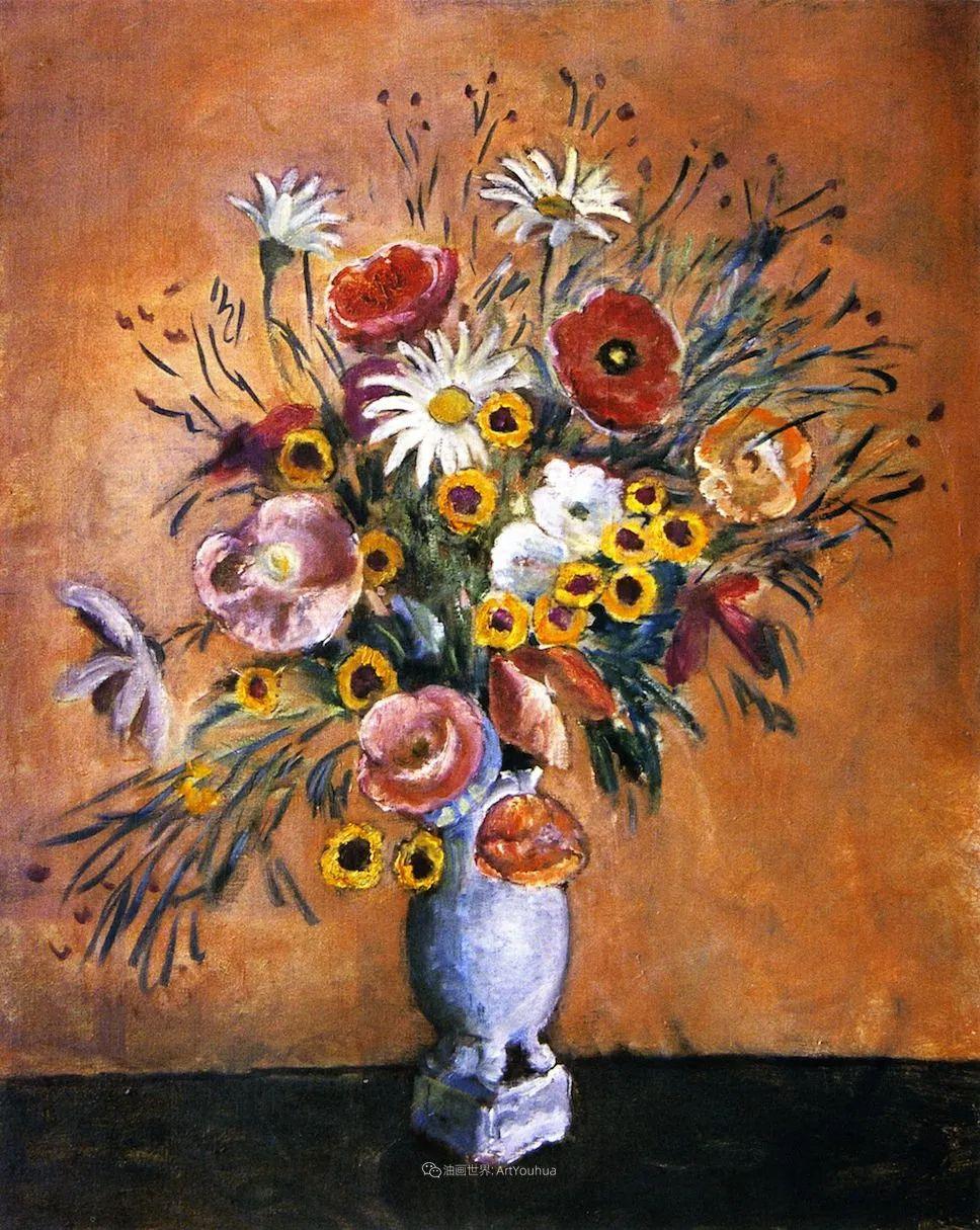 风景花卉,美国印象派画家Frederick Carl Frieseke作品选插图11