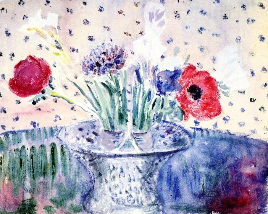 风景花卉,美国印象派画家Frederick Carl Frieseke作品选插图12