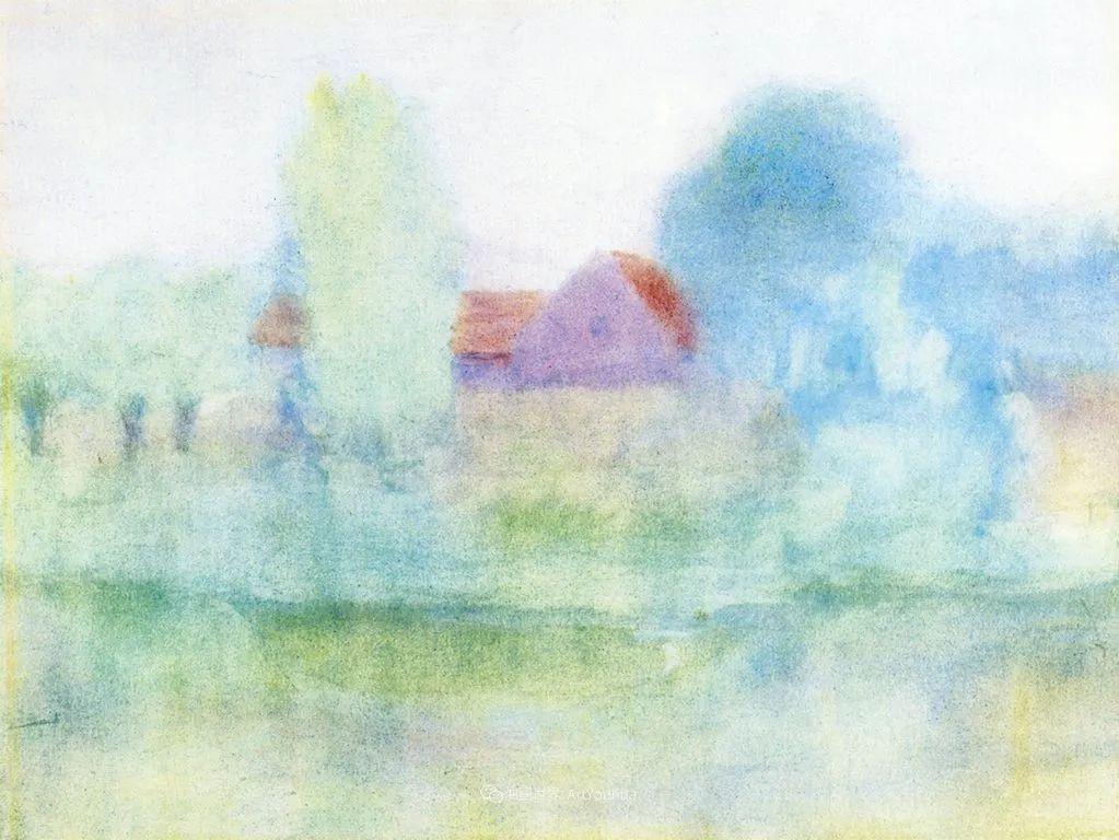 风景花卉,美国印象派画家Frederick Carl Frieseke作品选插图30