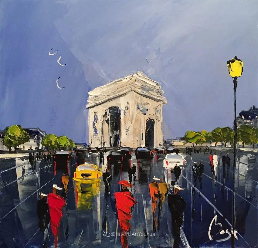 街景篇,法国艺术家Louis Magre作品选(上)插图13