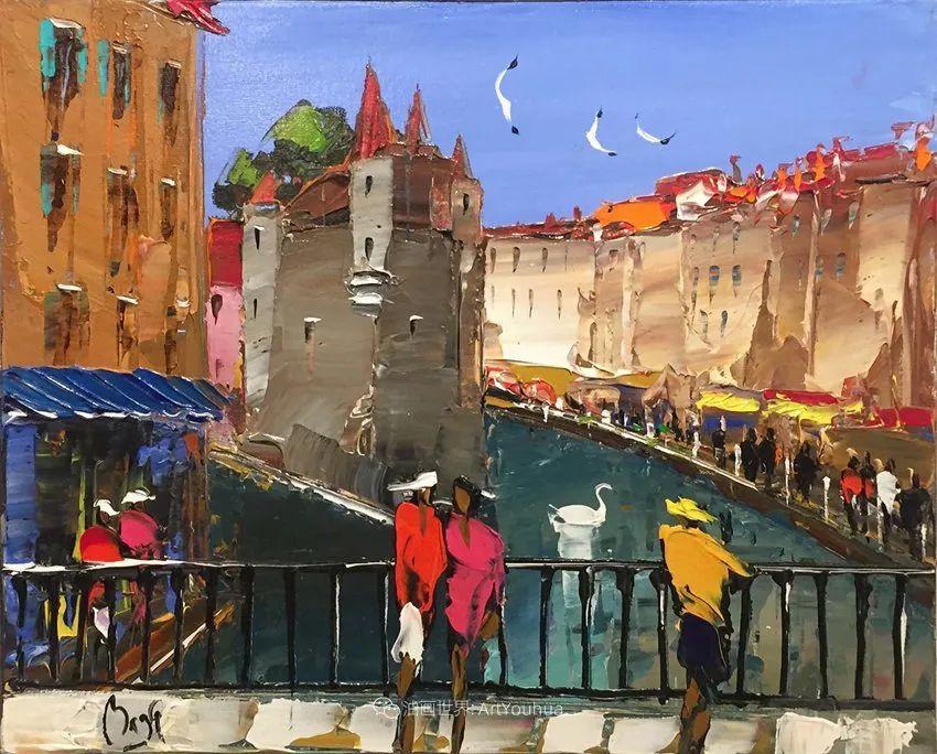 街景篇,法国艺术家Louis Magre作品选(上)插图22