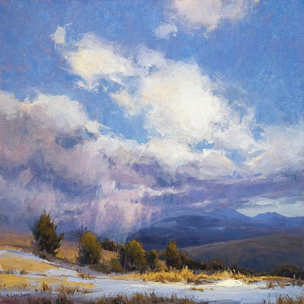 农场长大的女画家,笔下风景堪称一绝!美国Kim Casebeer作品选 (上)插图3