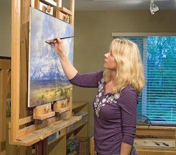 农场长大的女画家,笔下风景堪称一绝!美国Kim Casebeer作品选 (上)插图5