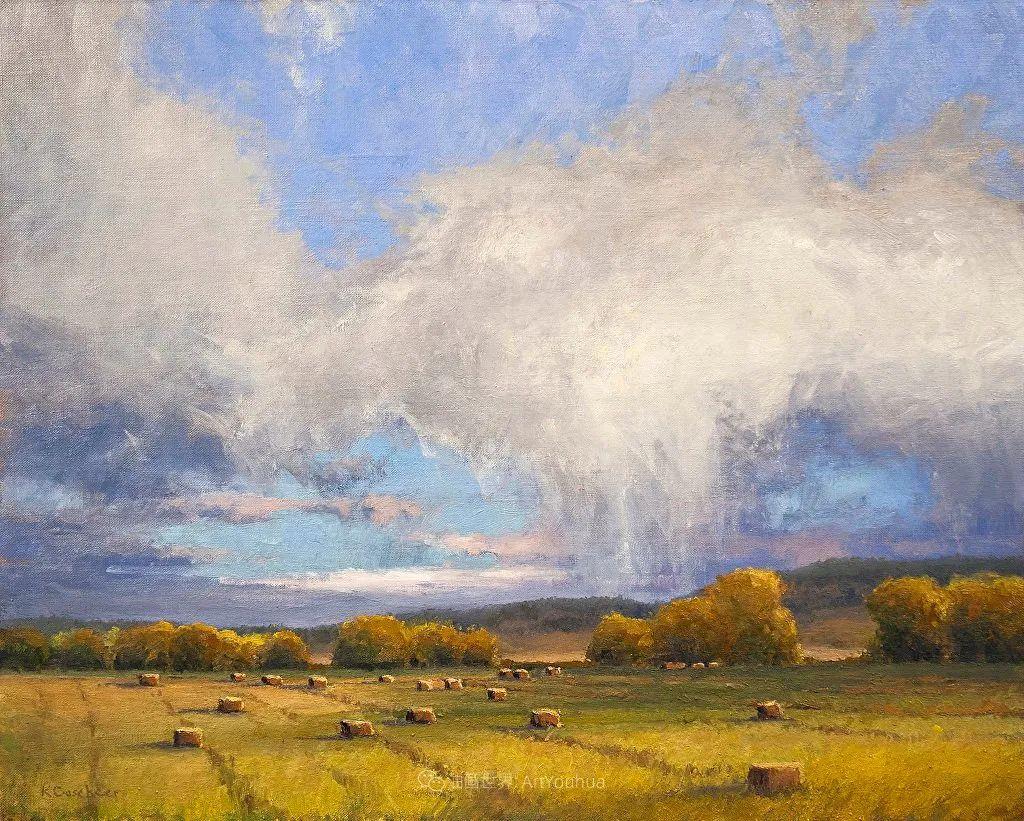 农场长大的女画家,笔下风景堪称一绝!美国Kim Casebeer作品选 (上)插图11