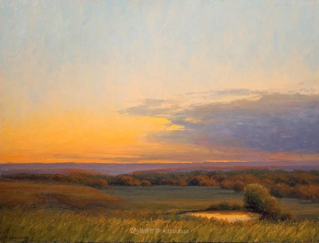 农场长大的女画家,笔下风景堪称一绝!美国Kim Casebeer作品选 (上)插图15