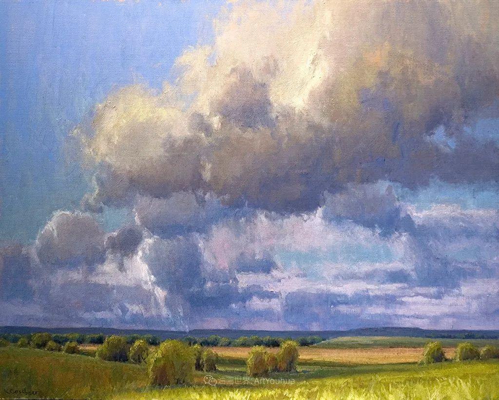 农场长大的女画家,笔下风景堪称一绝!美国Kim Casebeer作品选 (上)插图47
