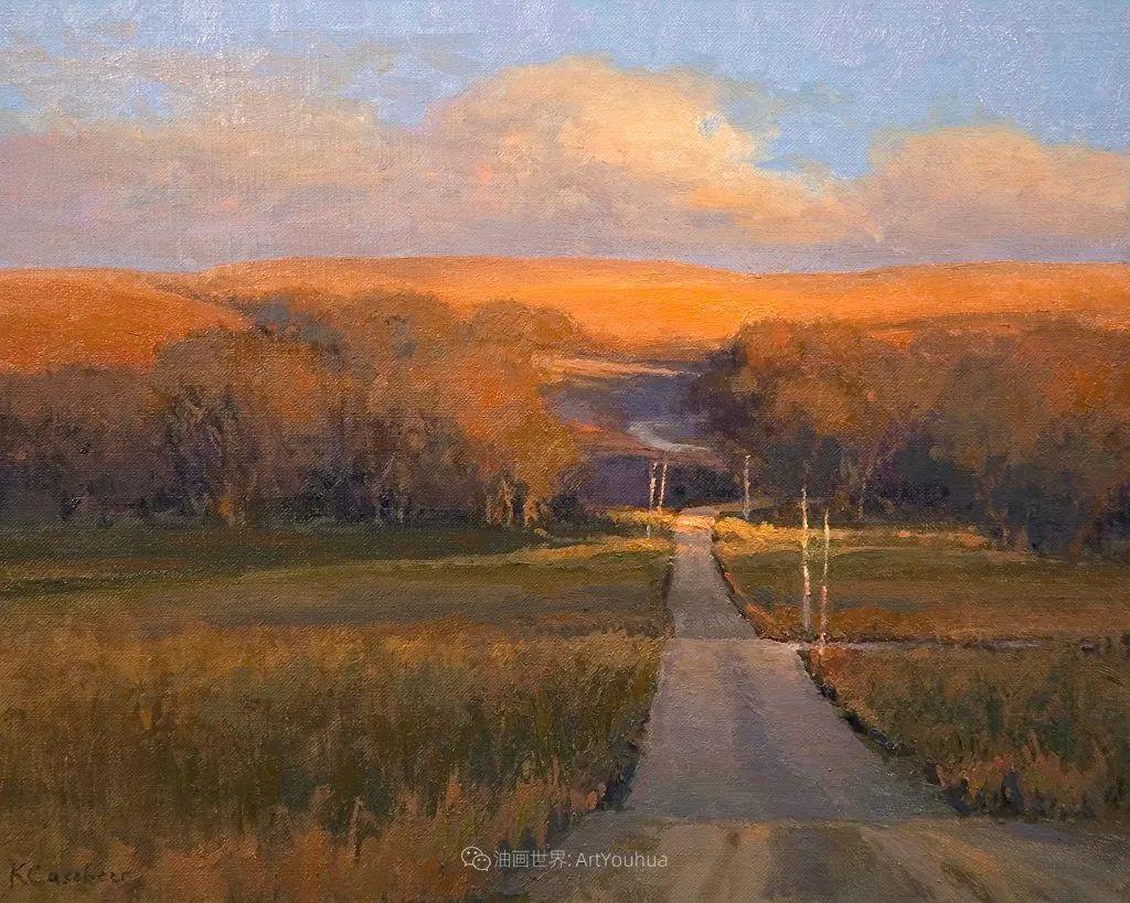 农场长大的女画家,笔下风景堪称一绝!美国Kim Casebeer作品选 (上)插图67