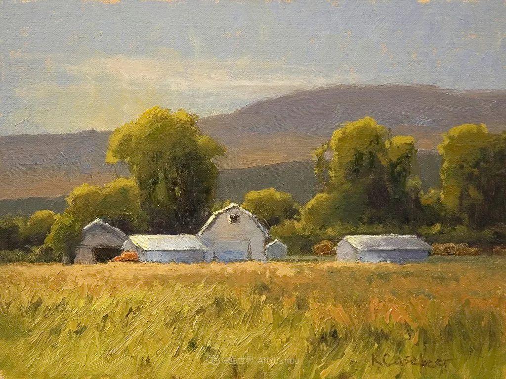 农场长大的女画家,笔下风景堪称一绝!美国Kim Casebeer作品选 (上)插图71