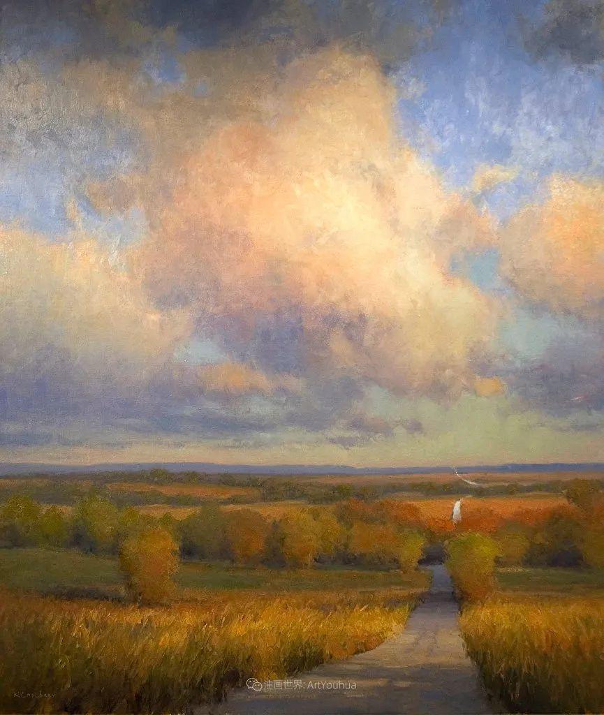 农场长大的女画家,笔下风景堪称一绝!美国Kim Casebeer作品选 (上)插图79